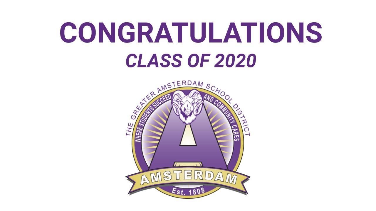 AHS graduation logo