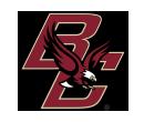 Boston College logo - BC