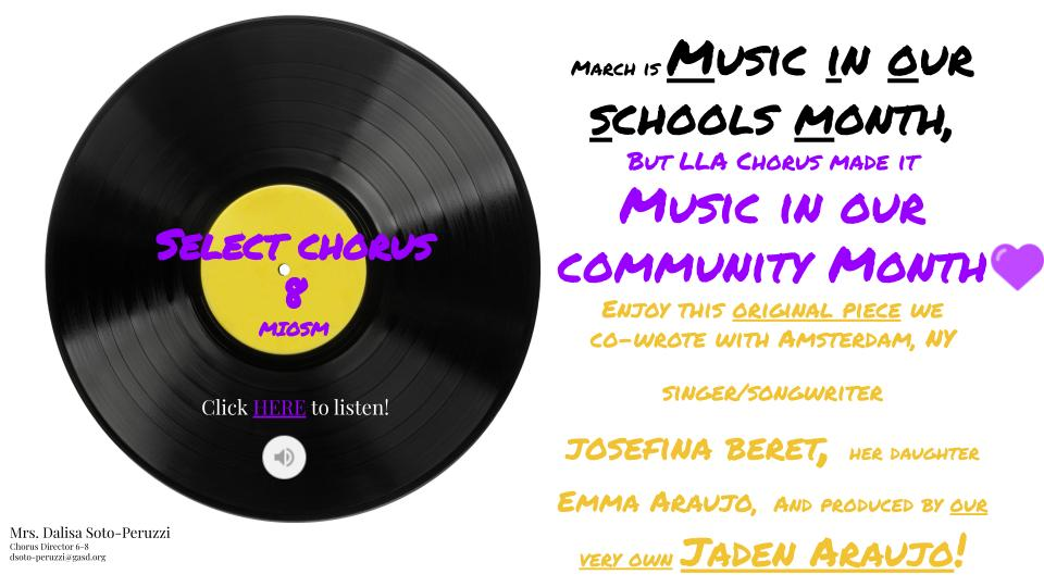 music in our community month
