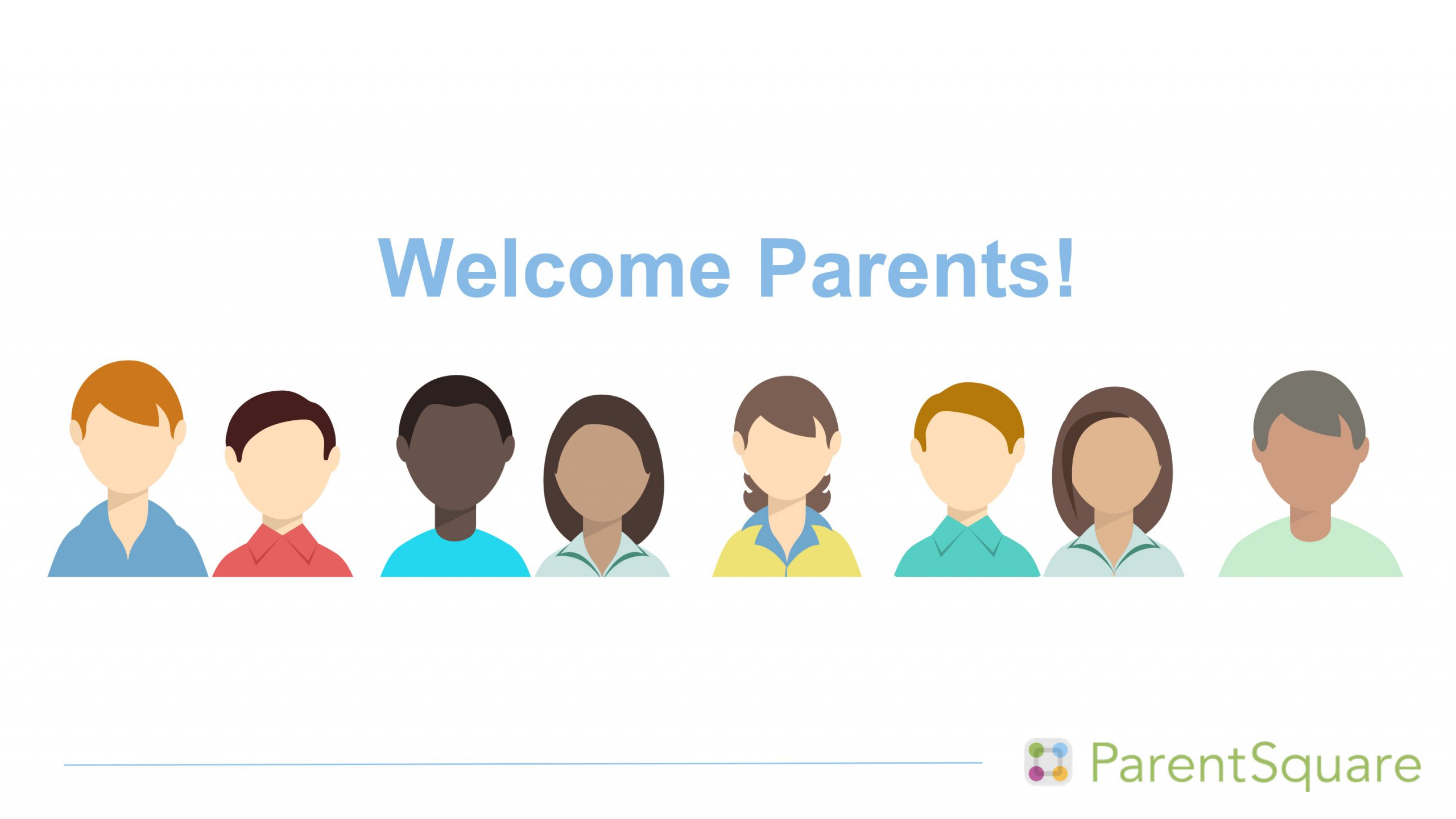 welcome parents to parent square logo