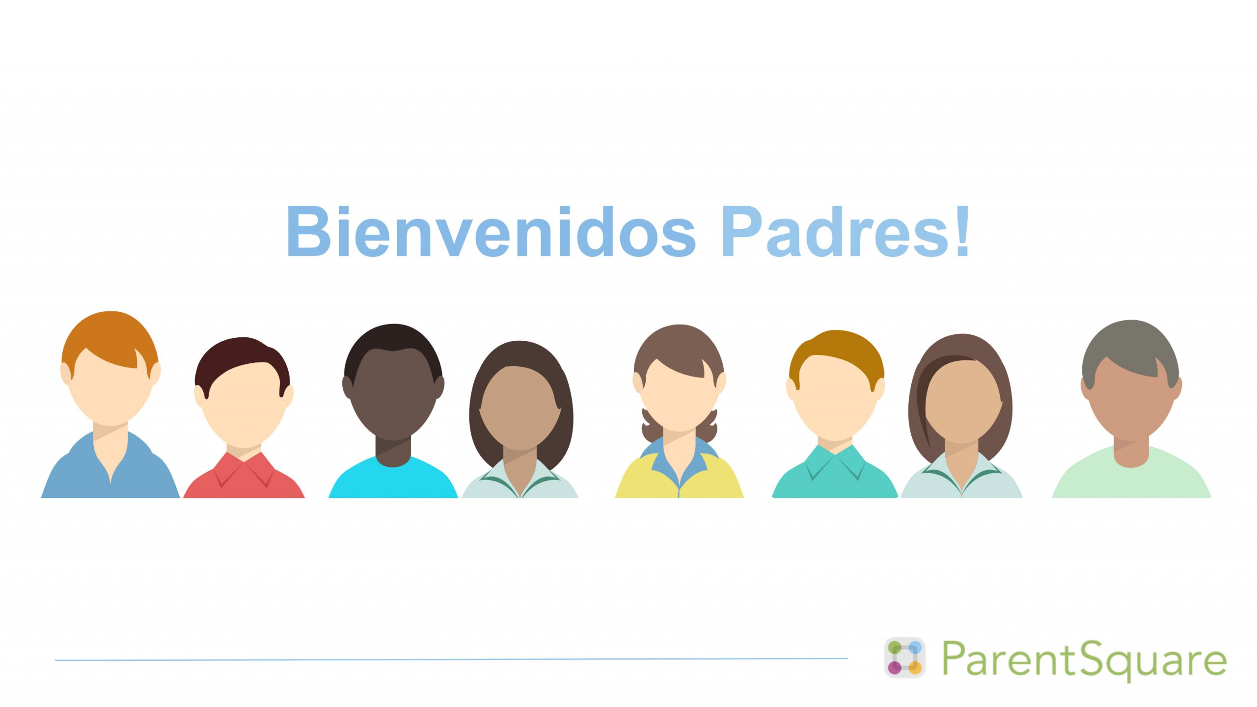 welcome parents image spanish